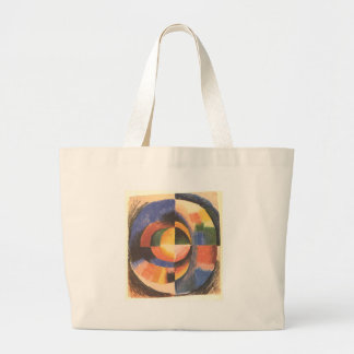 Colour circle by August Macke Jumbo Tote Bag