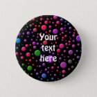 Colour Circles 6 Cm Round Badge