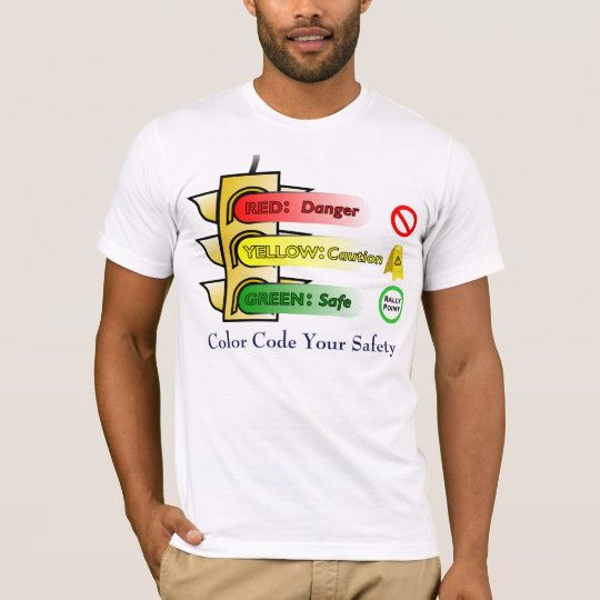 Colour Code Your Safety T-Shirt