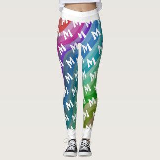 Colour cute leggings