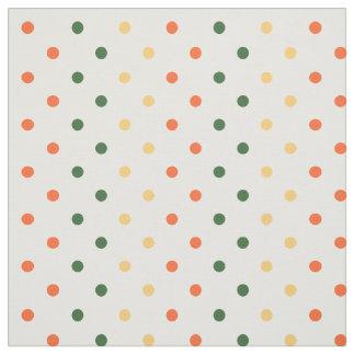 Colour Dots Autumn Shades Fabric