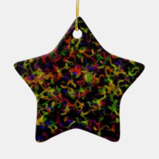 Colour explosion christmas tree ornament