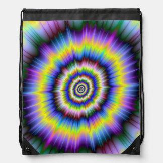 Colour Explosion  Drawstring Bag