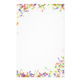 Colour explosion frame customized stationery