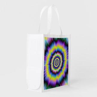 Colour Explosion Reusable Grocery Bags