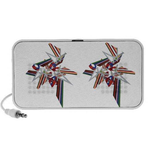 Colour Explosion iPod Speakers