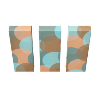 Colour Explosion Wrapped Canvas (Palette 2) Canvas Prints