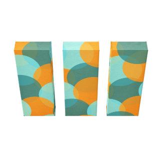 Colour Explosion Wrapped Canvas (Palette 3) Stretched Canvas Prints