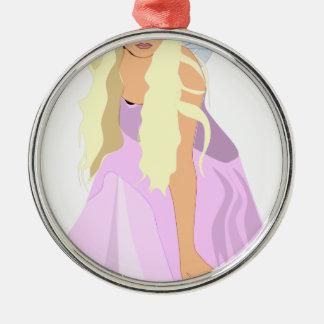 colour fairy christmas ornament