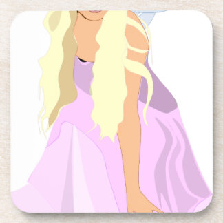 colour fairy coaster