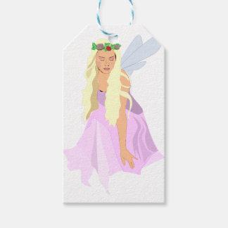 colour fairy gift tags