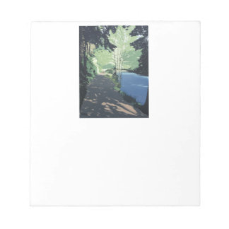 Colour fine art illustrated notepad