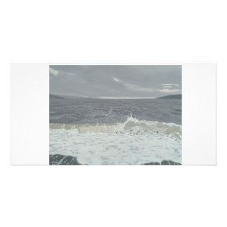 Colour fine art illustrated photocard customized photo card