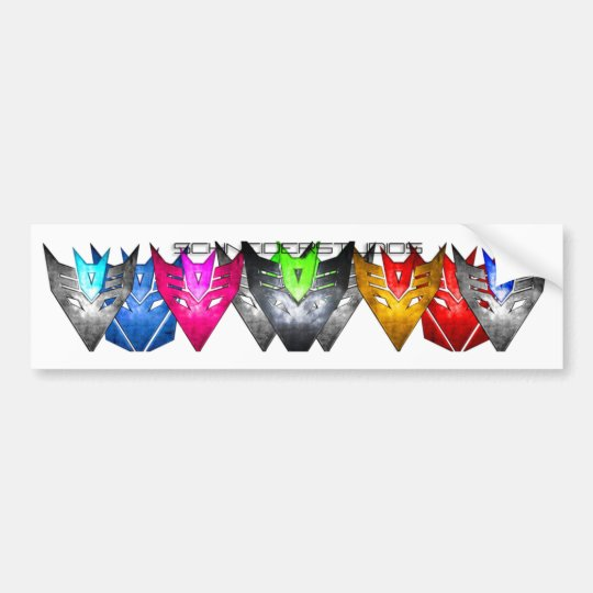 Colour Formation trans Bumper Sticker