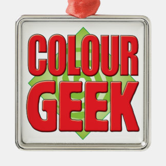 Colour Geek v2 Christmas Tree Ornaments