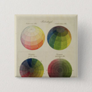 Colour Globes for Copper 15 Cm Square Badge