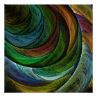 Colour Glory Abstract Art Print