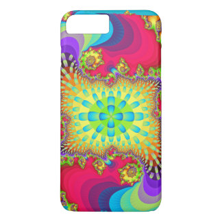 Colour influx, Artistic abstract iPhone 8 Plus/7 Plus Case