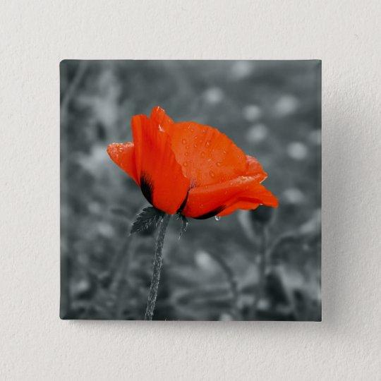 Colour key Poppy Button