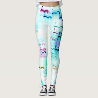 Colour Light Abstraction Invert Leggings
