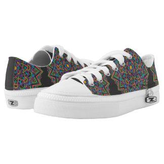 Colour Mandala Low Top Shoes