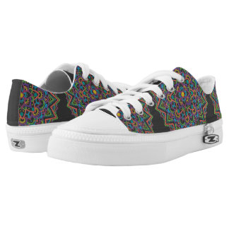 Colour Mandala Low Top Shoes Printed Shoes