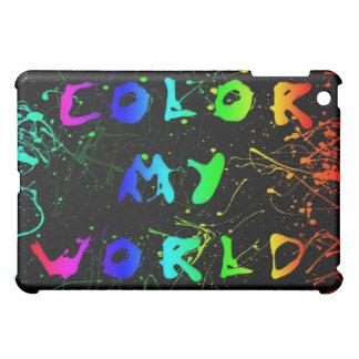 Colour my World iPad Mini Covers