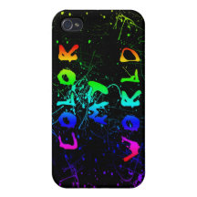 Colour my World iPhone 4/4S Cover