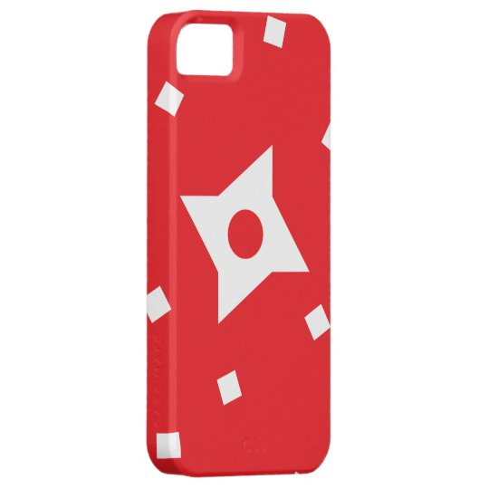 Colour Ninja Red iPhone 5/5s Case