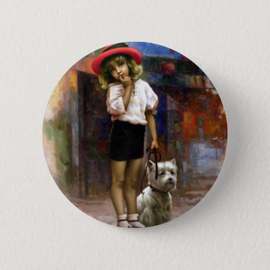 Colour of Melody - walk 6 Cm Round Badge