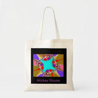 Colour Radial Budget Tote Bag
