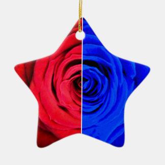 Colour Rose Christmas Ornament