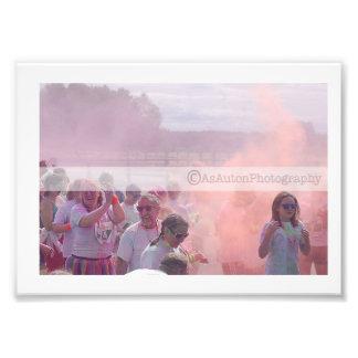 Colour Rush Photographic Print