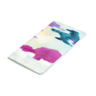 Colour Shapes Watercolour Painting Pocket Journal