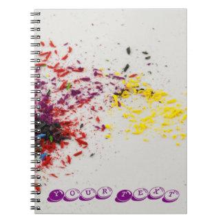Colour Shavings Notebook