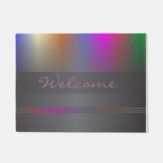 Colour spectrum doormat