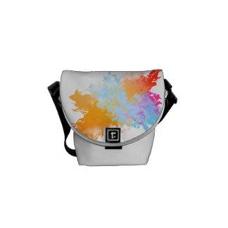 Colour Splash Rickshaw Messenger Messenger Bag