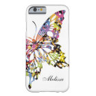 Colour Splashed Butterfly iPhone 6 case