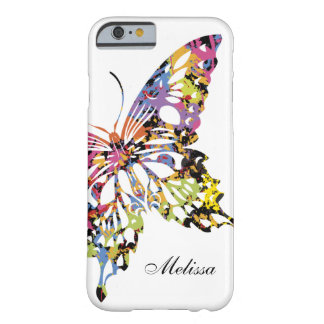 Colour Splashed Butterfly iPhone 6 case Barely There iPhone 6 Case