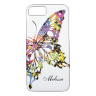Colour Splashed Butterfly iPhone 8/7 case