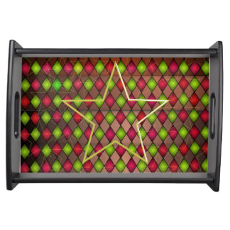 Colour star serving tray