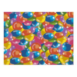 colour sweets postcards