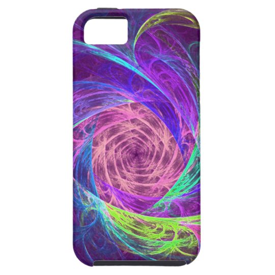 Colour swirl iPhone 5 cover