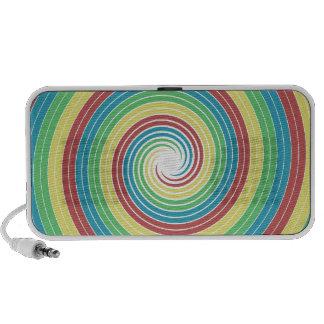Colour Swirls - Design 1 PC Speakers