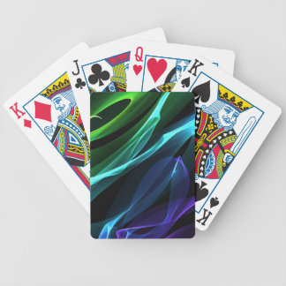 Colour Swirls Playing Cards