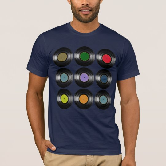 colour vinyl records music T-Shirt