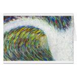 colour wave card
