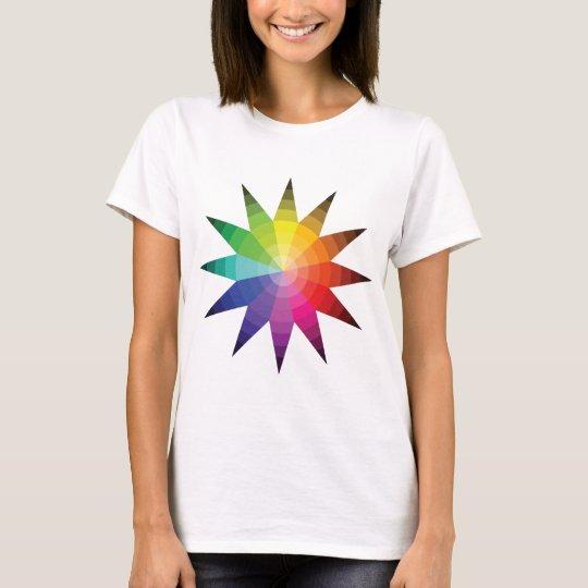 Colour Wheel Explosion T-Shirt