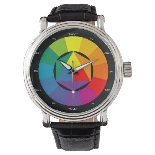 Colour Wheel Watch