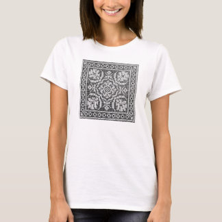 Colour-yourself t shirt vintage needlework